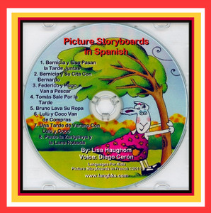 Picture Storyboards in Spanish CD