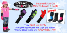 Snow Stoppers Nylon Mittens
