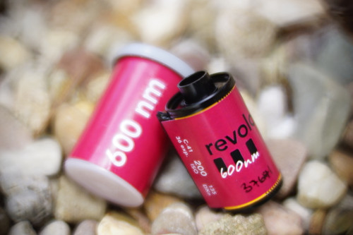 Revolog 460nm 35mm special effects film
