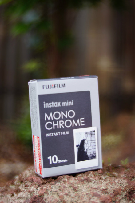 10 pieces of Fuji Instax Mini MONOCHROME film