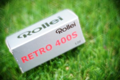 Rollei Retro 400s 120 film