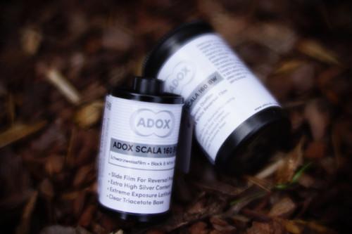 ADOX Scala 160 black/white 35mm slide films