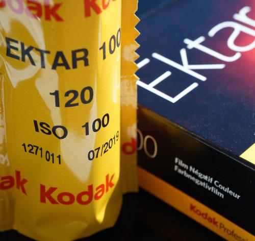 Kodak Ektar 100 120 film