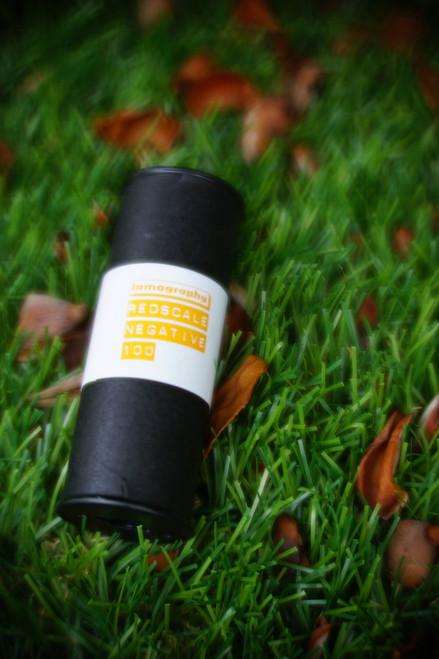Lomography Redscale 100 120 film (expired)