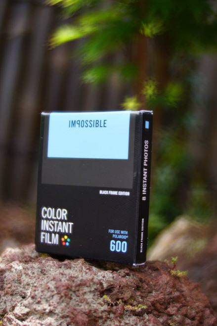 Impossible Project COLOR FILM FOR POLAROID 600 Type (Black frame)