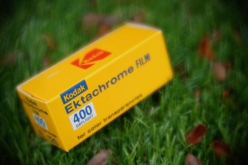 Kodak Ektachrome 400EL 120 film