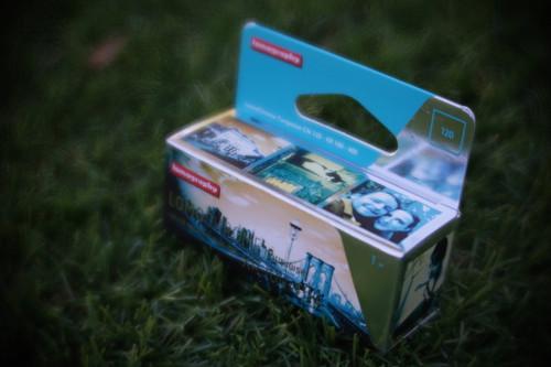 Lomography Lomochrome Turquoise XR 100-400  120 film