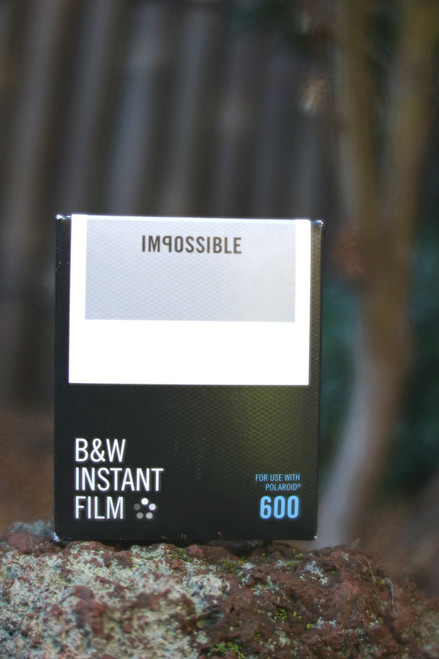 Impossible Project BLACK/WHITE FILM FOR POLAROID 600 Type (White frame)