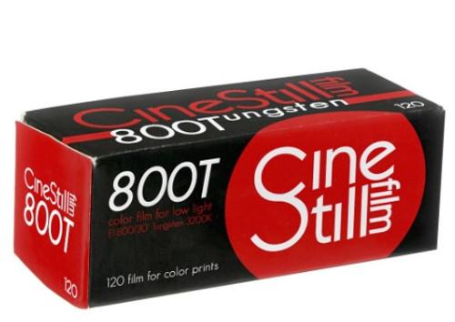 Cinestill 800T Tungsten 120 film