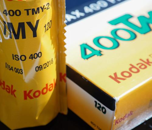 Kodak T-Max 400 120 film (single roll)
