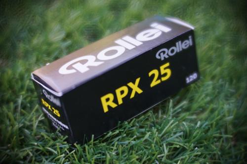 Rollei RPX 25 120 film