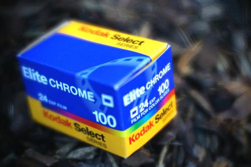 Kodak Elitechrome 100 24exp 35mm film (expired)