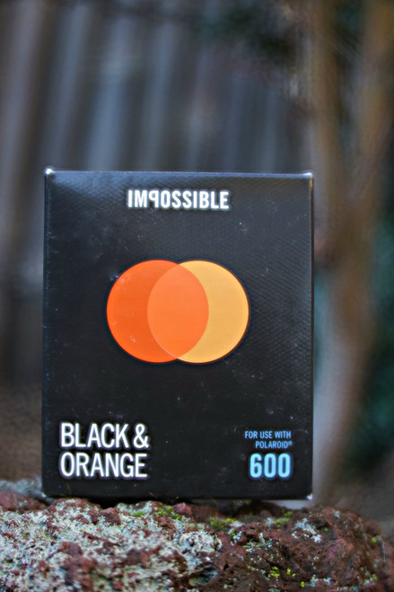 Impossible Project BLACK & ORANGE FILM FOR POLAROID 600 Type Duochrome