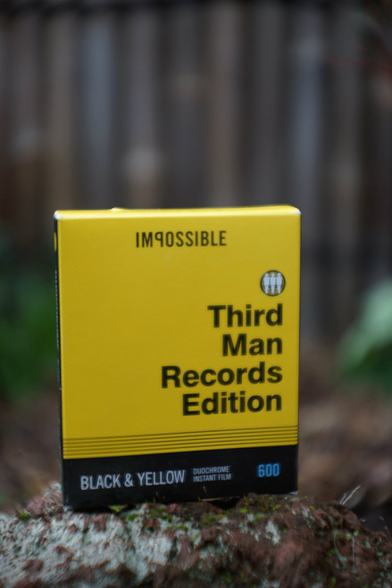Impossible Project B&Y FILM FOR 600 DUOCHROME THIRD MAN RECORDS EDITION
