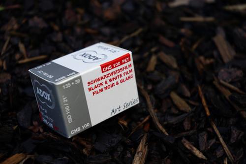 ADOX CHS 100 Type I black/white 35mm film (expired)