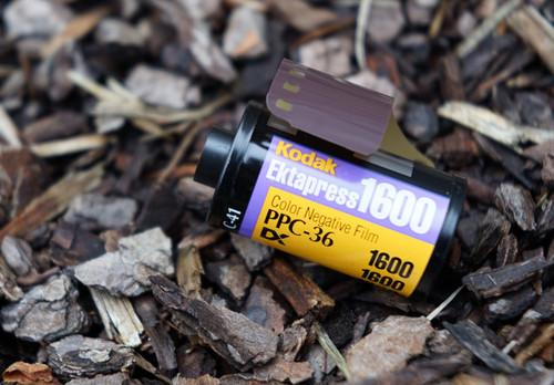Kodak Ektapress Gold 1600 35mm film (expired)