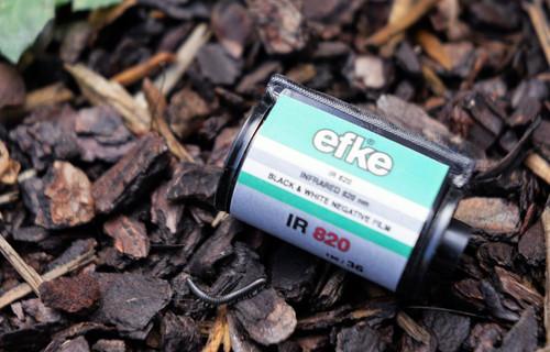 Ekfe IR 820 35mm film (expired)