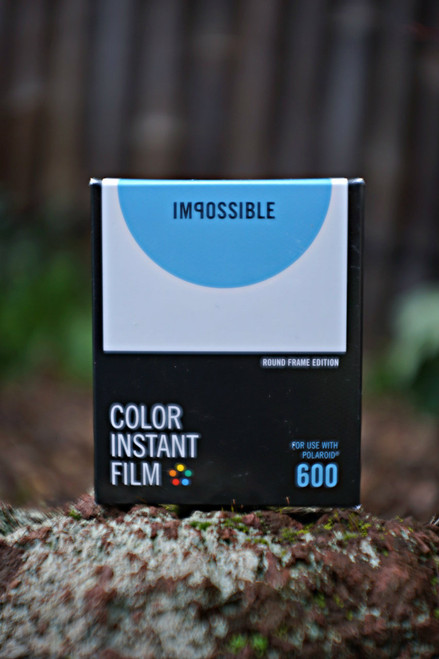 Impossible Project COLOR FILM FOR POLAROID 600 Type (ROUND FRAME)