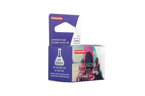 Lomography Chrome Purple 35mm film (NEW FORMULA)