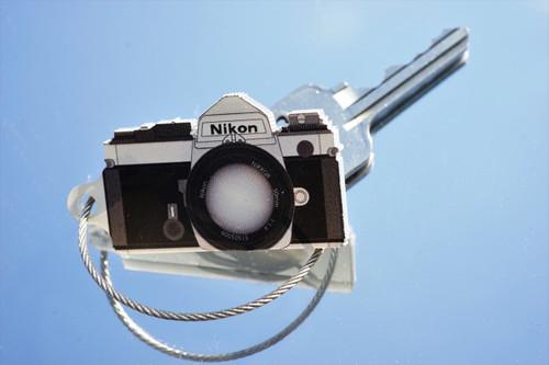 TIMFC Nikon FM camera keyring