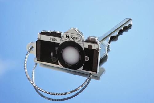 TIMFC Nikon FM2 camera keyring