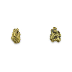 1.90 DWT ALASKA GOLD NUGGET EARRINGS