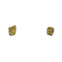 0.4 DWT ALASKA GOLD NUGGET EARRINGS