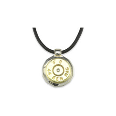 925 Silver 44 Rem Mag Pendant With Display Chain