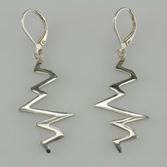 Sterling Silver Echo Earrings