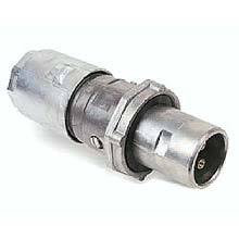 Crouse Hinds Pin and Sleeve Receptacle, AR Arktite Plug 60 Amp 4-Pole