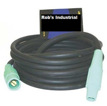 61225SCGR 2/0 25' CAM-LOCK CORD 200 AMP CAMS { GREEN}