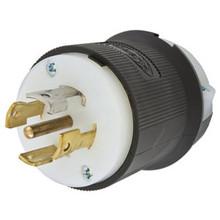 HUBBELL HBL2811 Plug 120/208VAC 30A, L21-30R 4P, 5W