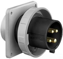 HBL460B5W 60A 600V 3PH Hubbell Male Flanged Inlet