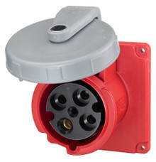 Hubbell HBL4100R7W AC Receptacle IEC 309 Pin & Sleeve