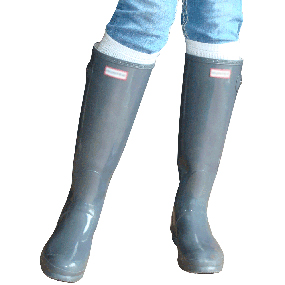 solid white boot socks