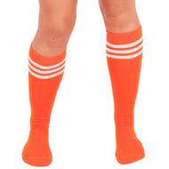 Orange Tube Socks