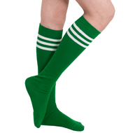 green tube socks