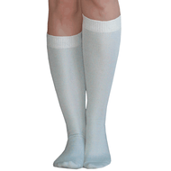 Gray Knee Socks
