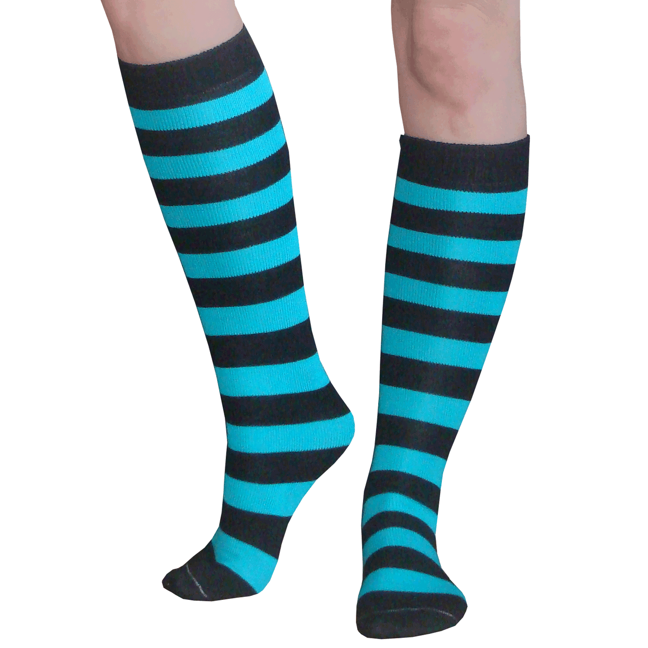 Each black knee-high sock is made from the finest materials available, allowing you to step out in a great product that combines the best of style and comfort! 1 2.