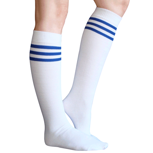 classic royal blue tube socks