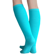 teal boot socks