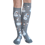 snowman knee highs