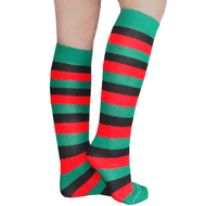 stylish xmas striped socks