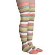 harvest rainbow striped socks