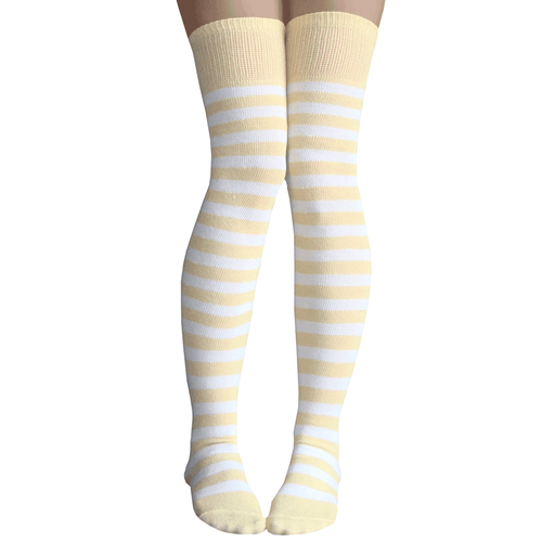 dandelion striped socks