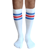mens patriotic striped socks
