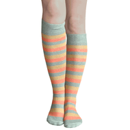 fall striped tube socks