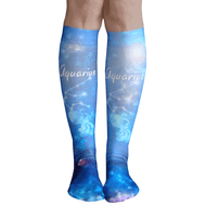 aquarius sign socks