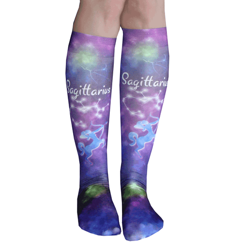 Sagittarius sign socks