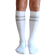 mens striped tube socks